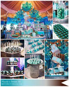 Tiffany's themed party