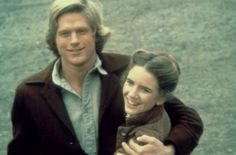 Laura and Almanzo Wilder (as played by Melissa Gilbert and Dean Butler)