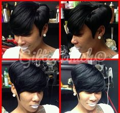 {Grow Lust Worthy Hair FASTER Naturally}        ========================== Go To:   www.HairTriggerr.com ==========================       Thick Swooped Pixie Cut