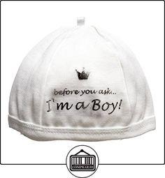 BamBam soy Boy Sombrero (blanco)  ✿ Regalos para recién nacidos - Bebes ✿ ▬► Ver oferta: http://comprar.io/goto/B001OC1LF6
