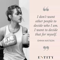 Ideas For Womens Quotes Feminism Emma Watson Girl Quotes, True Quotes, Book Quotes, Motivational Quotes, Funny Quotes, Inspirational Quotes, Qoutes, Men Quotes, People Quotes
