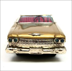 Bandai 'Cadillac Gear Shift Car', Japan. Battery Operated / Tinplate. Pic. 2. DOCKERILLS - TIN TOY REFERENCE - Kevin Dockerill - Picasa Web Albums