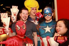 Die Boyahkasha feiert Geburtstag und mit dabei waren die Hero-Scouts begleitet von Goss Ipa mit Popcorn und vielen anderen Überraschungen. #BTC2016 #keinrisikoimapril #gossipa #superheros #boyahkasha #stophiv #hiv #undetectable #mycheckpoint #superman #captainamerica #flash #spiderman #aidshilfe #zürich #prevention Hier geht es zum Album: https://plus.google.com/u/0/photos/102435721324993838926/album/6267120671635416305?authkey=CKDyrf_8w9rnhQE