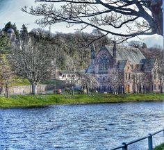The Ness Bank Church, Inverness, Scotland