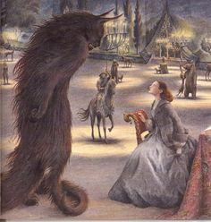 çizgili masallar: Beauty and the Beast by Angela Barrett