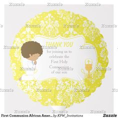 Shop First Communion African American Gold Damask Balloon created by KPW_Invitations. Helium Gas, Photo Balloons, First Communion Invitations, Balloon Shapes, Custom Balloons, First Holy Communion, Invitation Design, Damask, Boy Or Girl