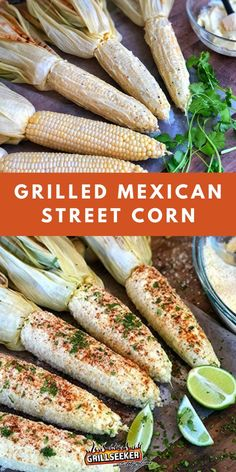 This delicious grilled mexican street corn is the perfect classic summer staple. Check out the grilled corn recipe for a healthy BBQ side dish now! #BBQsidedishes #BBQrecipes #grilledcorn #grilledcornrecipes Summer Grilling Recipes, Grill Recipes, Mexican Street Corn, Side Dishes For Bbq, Corn Recipes, How To Cook Steak, Food For A Crowd, Original Recipe, Kamado Grill
