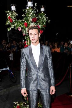 i love men named Cameron in grey suits