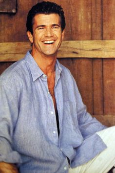 Mel Gibson. We like to claim him as an Aussie! He grew up in Queensland, Australia. Made his first movies here as well.  Tim and Mad Max amongst them.