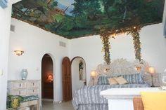 The master bedroom in Casa Canteena.