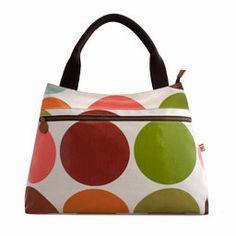 #sophiaandmatt Big Green Spot Handbag designed by Sophia & Matt, #Greenwich #London