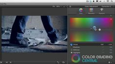 Final Cut Pro X 15 Part Color Grading Series Plus BONUS tutorial Final Cut Pro X When Apple introduced the new FCP X, it came with a newly designed color correction interface. Here you'll find complete color grading training for FCP X. I hope that you find these color grading tutorials beneficial in your color grading.