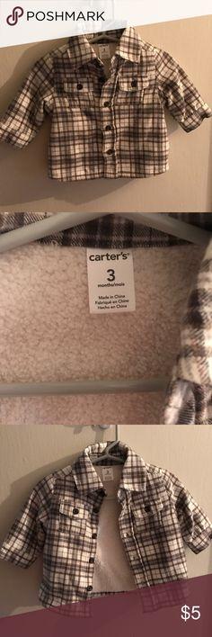 Infant carters jacket Infant carters jacket, never worn, just washed to hang. Carter's Jackets & Coats Pea Coats