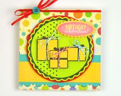 Birthday Celebration Card / Fuse Projects | Fiskars