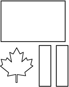 Canada for Kids National Flag of Canada Day is on February Use this easy flag template for kid Canada Day Flag, National Flag Of Canada, Canada 150, Canada For Kids, All About Canada, Flag Template, Templates, Canada Day Crafts, Canada Day Party