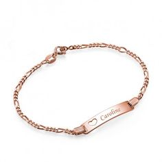 The West Hollywood ID Bracelet - 18k Rose Gold Plated