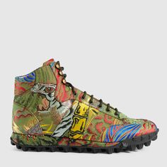 Gucci Tiger jacquard sneaker