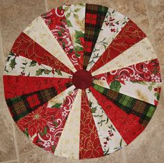 dresden plate table topper step by step tutorial the sewing fools the sewing fools crafts. Black Bedroom Furniture Sets. Home Design Ideas