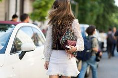 The best street style at Milan Fashion Week.