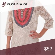 Gimmicks Lace Top Very detailed as are all Gimmicks pieces. Used a handful of times w/ no visible signs of wear. Beautiful piece 😍😍 Buckle Tops Tunics