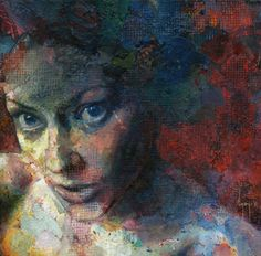 Colorful Portraits, Hands, and Figures Painted by David Agenjo portraits painting
