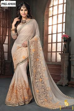 Spread Your Elegant Charm On Every Evening Events With Your Stunning Look. Pavitraa Offers Stylish Wedding Party Wear Sarees Collection  Order Now : http://www.pavitraa.in/store/designer-collection/?utm_source=mk&utm_medium=pinterestpost&utm_campaign=5Dec  #designersarees, #bridalsarees, #weddingsarees, #partywearsarees  Free Shipping + COD In India Call / Whats App: +91-7698234040