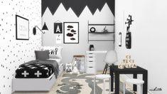 Scandinavian Nursery at Viikiita Stuff • Sims 4 Updates
