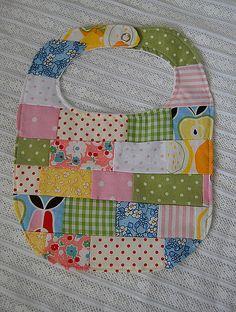 patchwork bib :: sweet