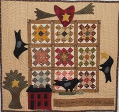 Log Cabin Quilter: LOVE AND FRIENDSHIP design by cheri