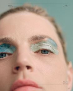Top model Guinevere Van Seenus is styled by Patti Wilson in 'Colors', lensed by Dario Cantellani for Vogue Italia July Hair by Shingo Shibata; makeup by Dick Page Goth Makeup, Makeup Inspo, Makeup Art, Makeup Inspiration, Eye Makeup, Vogue Makeup, Dental, Eyeliner, Eyeshadow