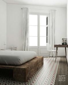 My Last Project In L´Eixample, Barcelona. Wood U0026 White Apartment In  L´Eixample Interior Design By Katty Schiebeck.