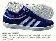 Adidas Monaco.  Article: FAD4587.  Made in France. #adiporn #adidasvintage #adidasoriginals