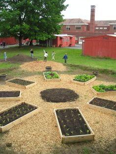 Ideas For School Gardens Design School Garden Gunnison Colorado#kidseatwhattheygrow #kidsgarden .