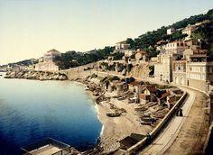 La Corniche Ⓒ Anonyme  Marseille, 1895