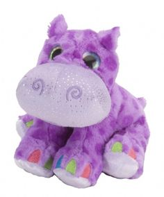 Purple Hippo (Sweet & Sassy 8-inch Plush) at theBIGzoo.com, a toy store with over 12,000 products.