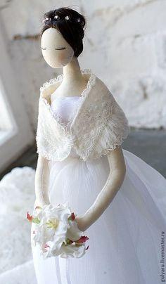 Fabric doll / Подарки на свадьбу ручной работы. Ярмарка Мастеров - ручная…