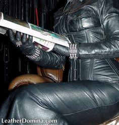 Leather Fetish Dominatrix