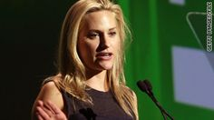 """People come up to Aimee Mullins all the time and say, """"you know, I have to tell you, you just don't look disabled."""""""