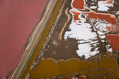 Namib Desert, Namibia: The surreal pink waters of the Swakopmund Saltworks are a curious sight and a surprisingly brilliant spot for birdwatchers