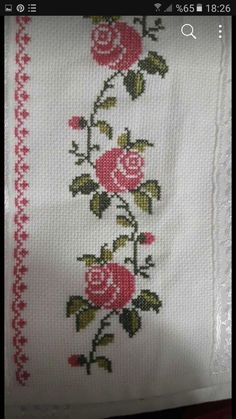 Cross Stitch Designs, Hat Patterns, Embroidery, Cross Stitch Kitchen, Cross Stitch Rose, Crochet Carpet, Diy And Crafts, Health Remedies, Towels