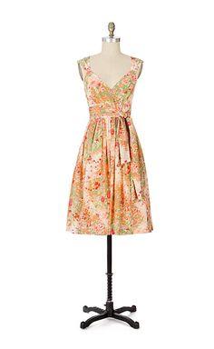 Chuparosa Dress - anthropologie.com