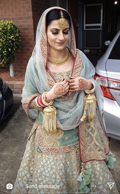 Indian Party Wear, Indian Bridal Wear, Pakistani Bridal Dresses, Indian Wedding Outfits, Bridal Outfits, Indian Dresses, Indian Outfits, Wedding Lehnga, Denim Shirts For Girls