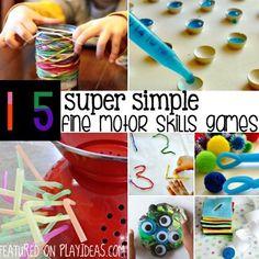 super simple fine motor skills games