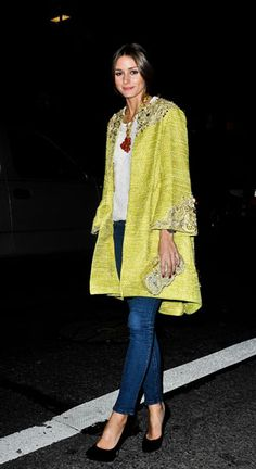 Spring (Coat) Watch Olivia Palermo, Alexa Chung, Solange Knowles | Grazia Fashion