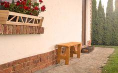 Ławka  ogrodowa LB-3 cena promocyjna: 62 zł Outdoor Furniture, Outdoor Decor, Garden Bridge, Bench, Outdoor Structures, Home Decor, Decoration Home, Room Decor, Home Interior Design