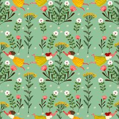 phoebewahl:  Green version of a pattern I made this week Phoebe Wahl 2013