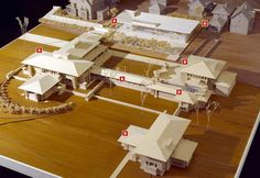 Frank Lloyd Wright's Martin House Complex :: Learn : Visual Tour