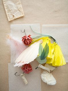 Rebecca Thuss : Favors - Paper - Craft