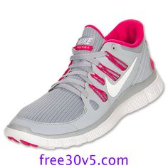 50% Off Nike Frees,Nike Free 5.0 Womens Wolf Grey White Pink Force 580591