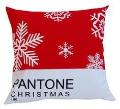 PANTONE christmas pillow